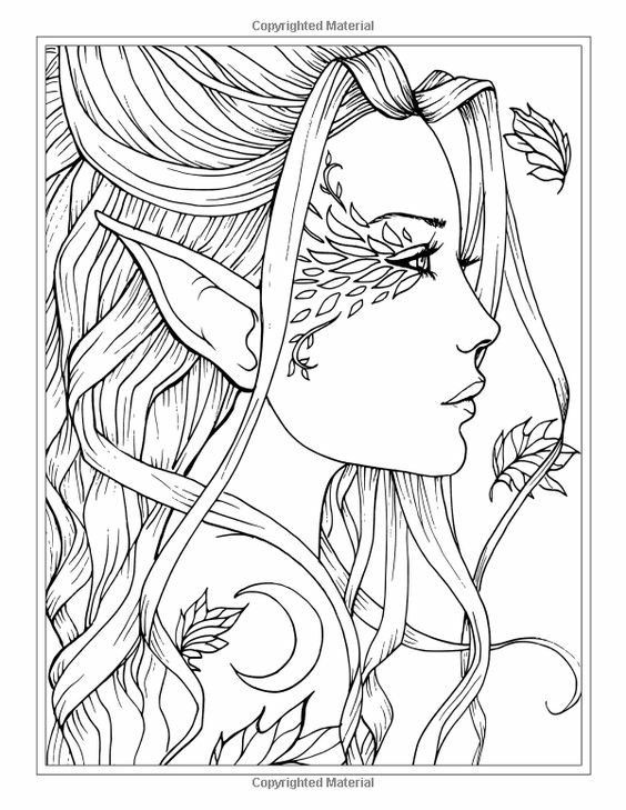 coloring pages of girls realistic adult coloring page girl portrait and leaves colouring girls coloring pages of realistic