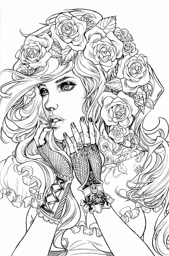 coloring pages of girls realistic best 898 beautiful women coloring pages for adults ideas of realistic pages girls coloring