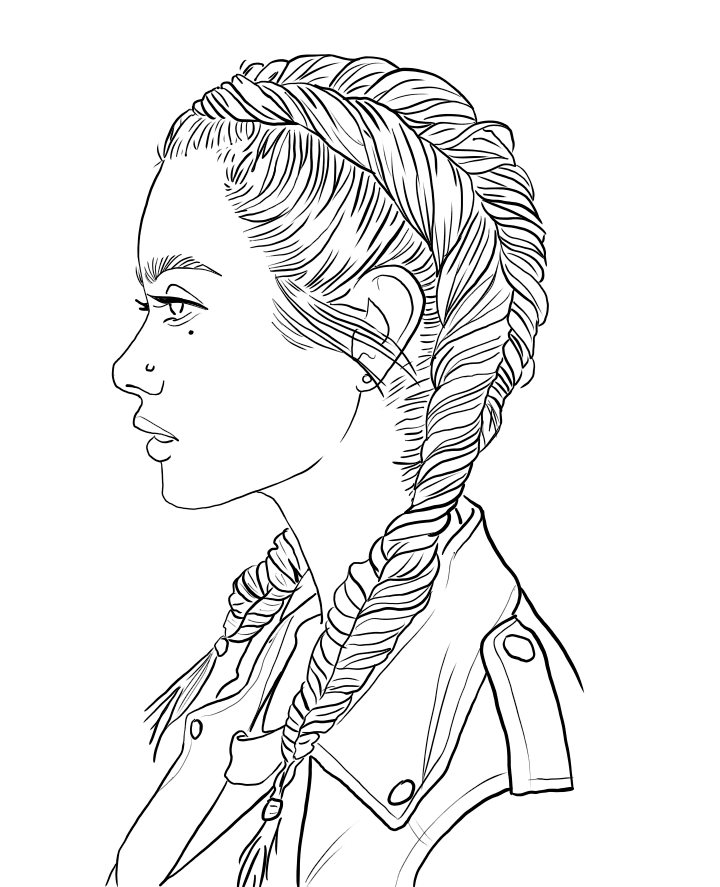 coloring pages of girls realistic coloring pages of girls realistic girls realistic coloring pages of