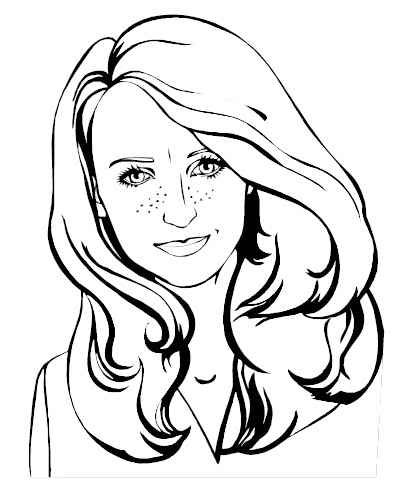 coloring pages of girls realistic long hair girl coloring pages selena gomez easy coloring coloring pages of girls realistic