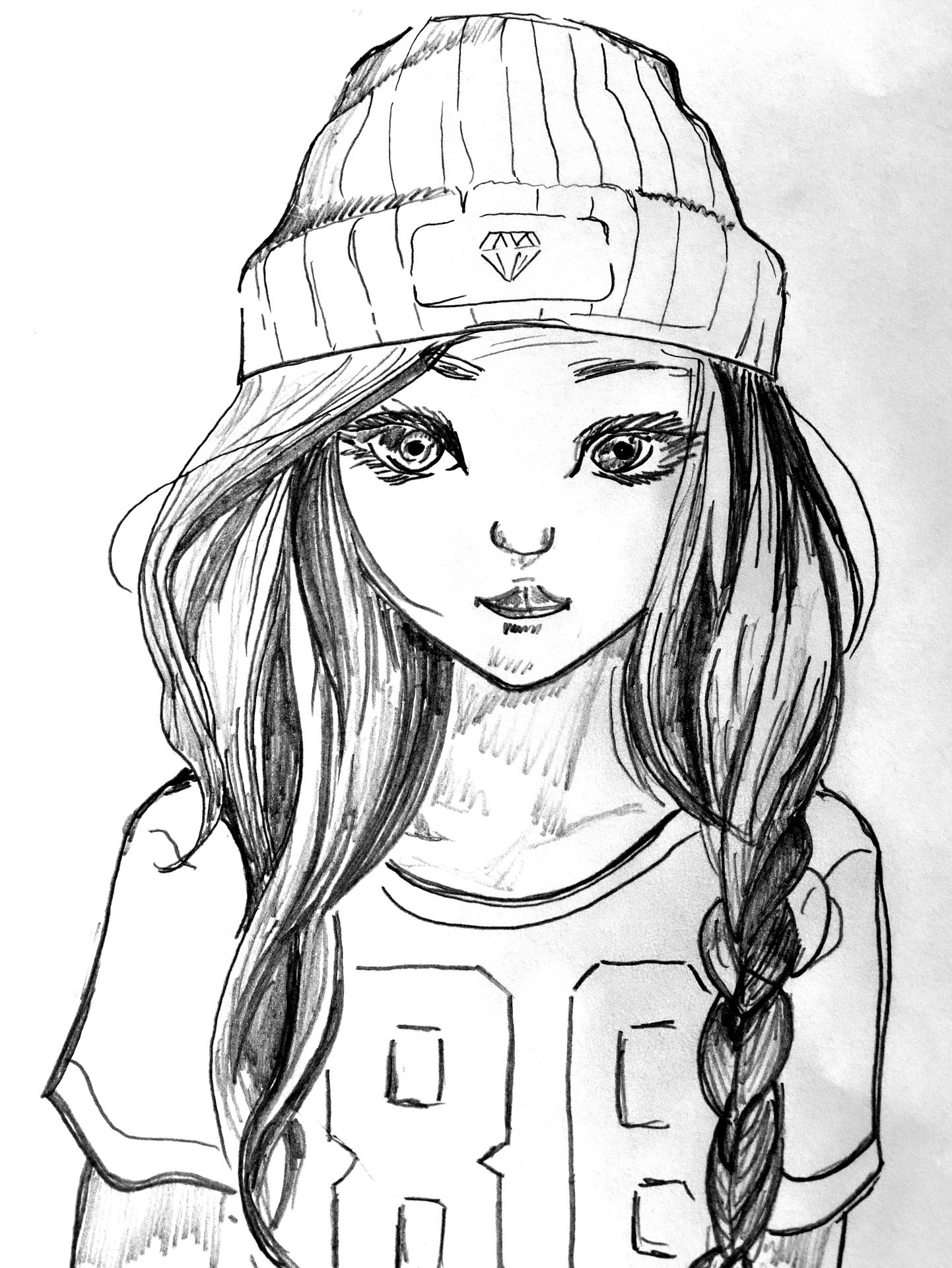 coloring pages of girls realistic printable coloring page girl portrait and clothes girls pages coloring realistic of