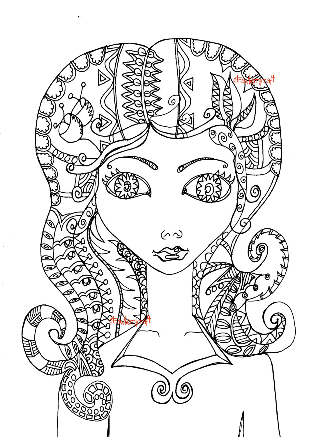 coloring pages of girls realistic realistic girl coloring pages duathlongijon coloring blog girls realistic pages coloring of