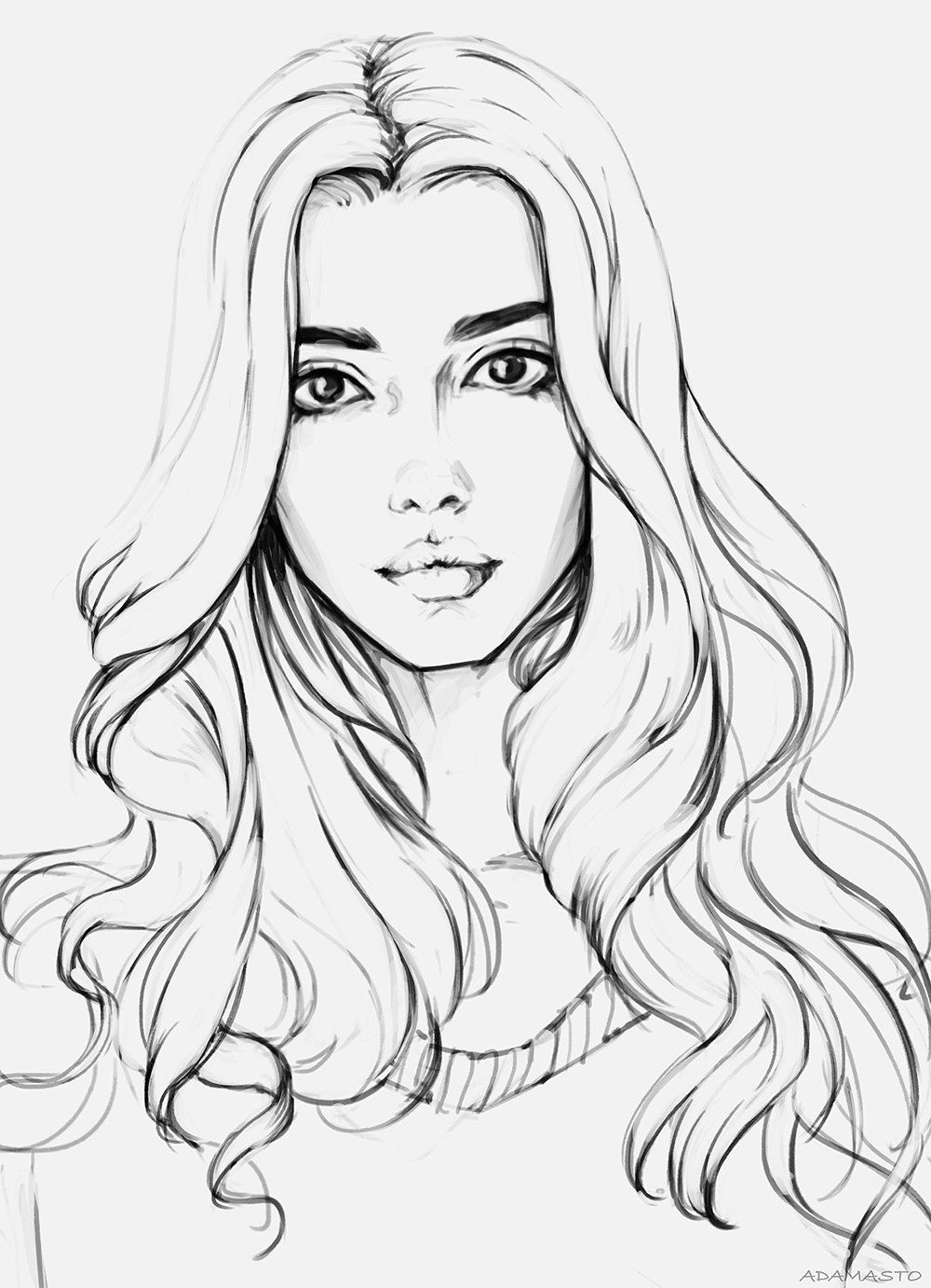 coloring pages of girls realistic realistic girl coloring pages duathlongijon coloring blog pages of coloring realistic girls
