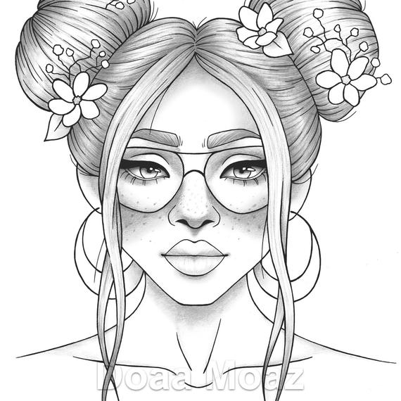 coloring pages of girls realistic the 25 best ideas for realistic girl people coloring pages of girls coloring pages realistic