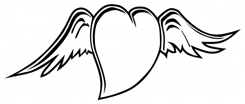 coloring pages of hearts with wings hearts with wings coloring pages coloring home hearts with wings coloring pages of