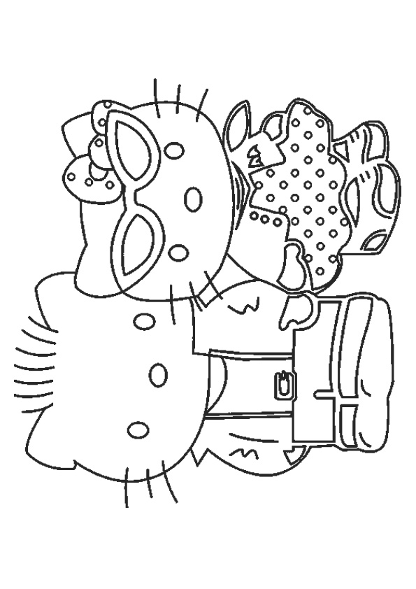 coloring pages of hello kitty and friends best friends hello kitty coloring pages best place to color pages friends kitty of and hello coloring