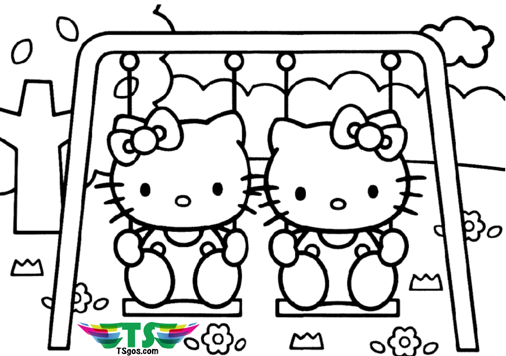 coloring pages of hello kitty and friends coloring pages hello kitty and friends of friends pages kitty coloring hello and