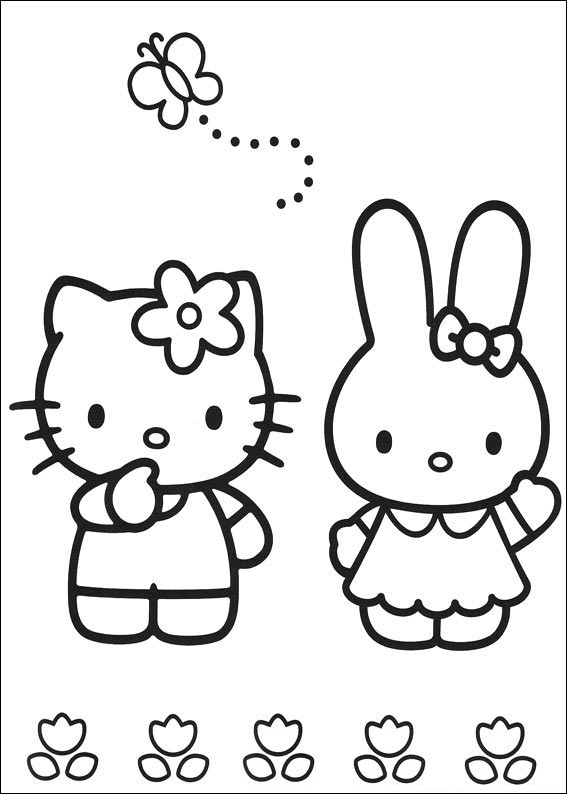 coloring pages of hello kitty and friends coloring pages of hello kitty and friends kitty hello and of friends pages coloring