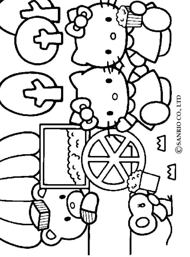 coloring pages of hello kitty and friends hello kitty and friends coloring pages at getcoloringscom coloring pages friends of kitty and hello