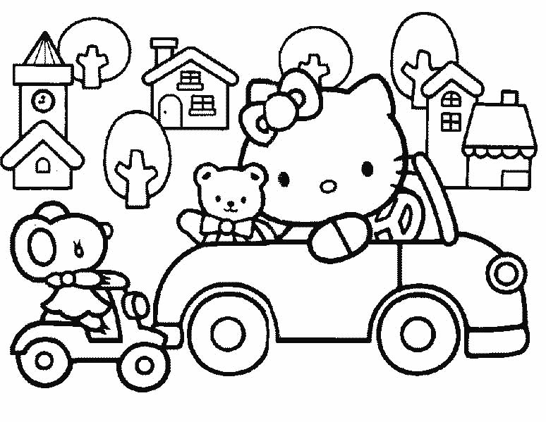 coloring pages of hello kitty and friends hello kitty and friends coloring pages slim image of kitty coloring hello pages friends and