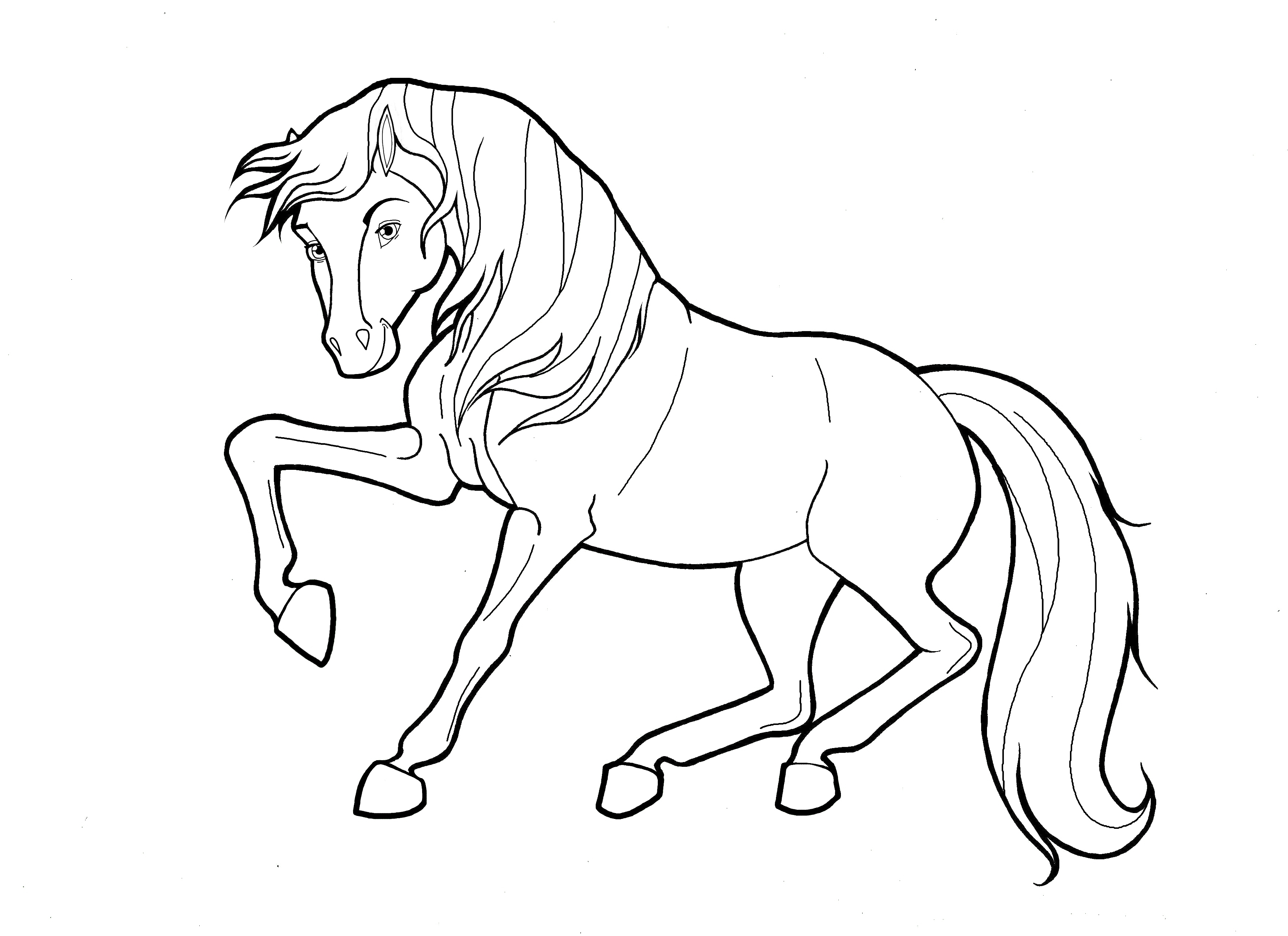 coloring pages of horse 30 printable horse coloring pages horse coloring pages of