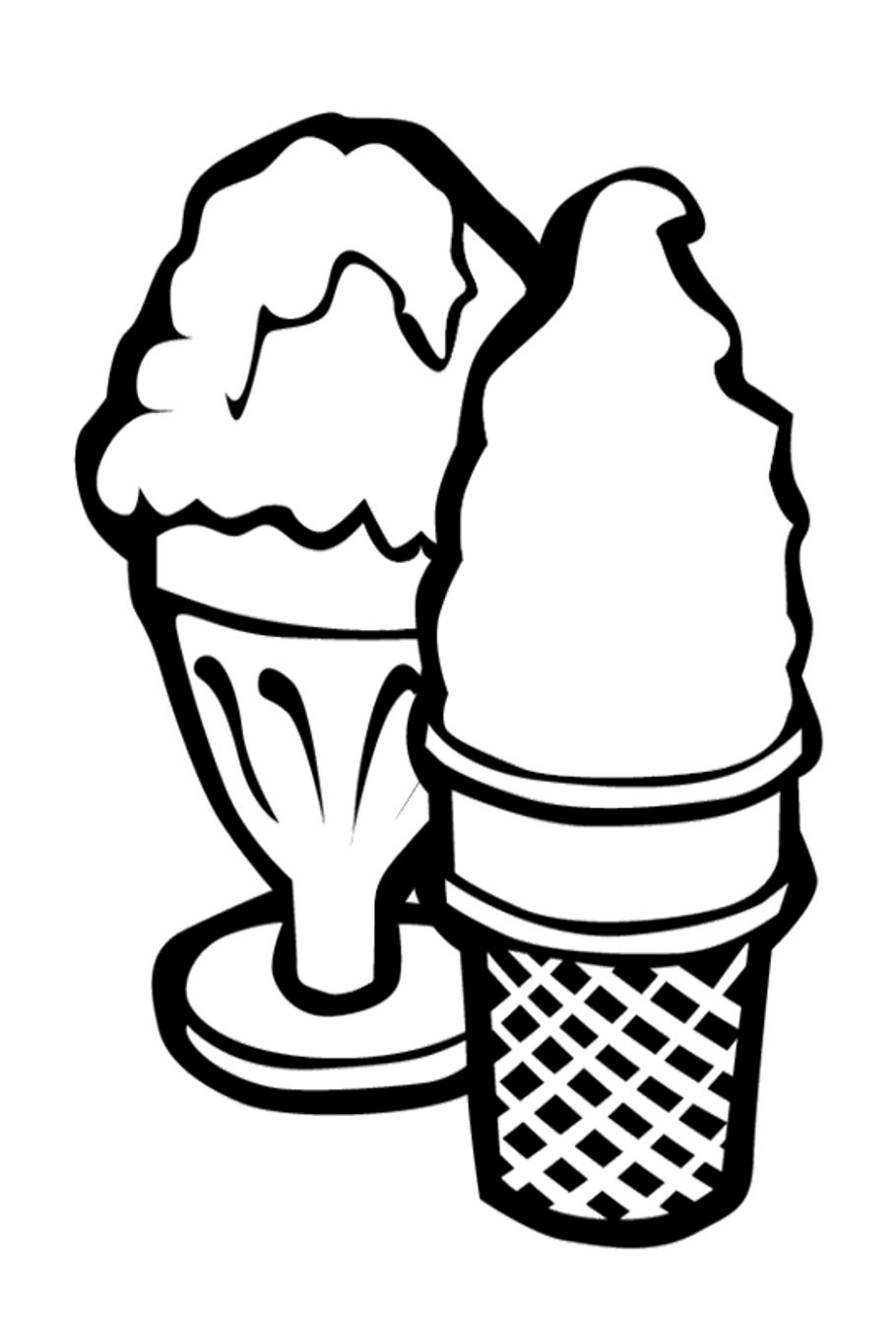 coloring pages of ice cream coloring pages for ice cream cone pages ice coloring cream of