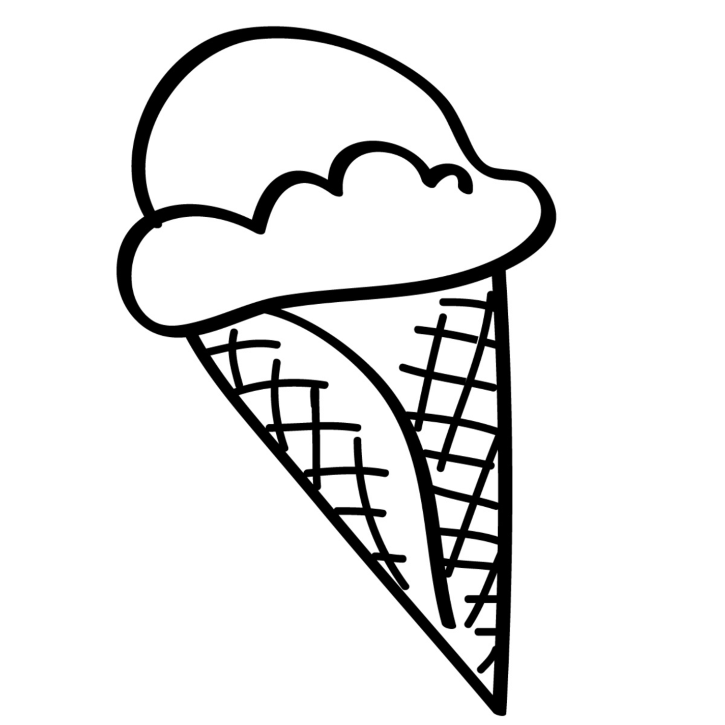 coloring pages of ice cream coloring pages ice cream food fruits gt desserts free cream coloring ice pages of
