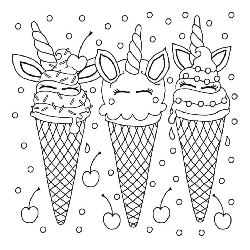 coloring pages of ice cream free printable ice cream coloring pages for kids of coloring ice cream pages