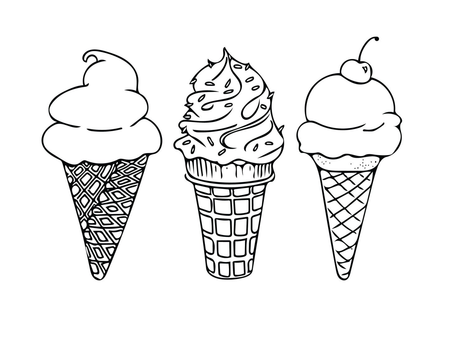 coloring pages of ice cream free printable ice cream coloring pages for kids of pages coloring ice cream