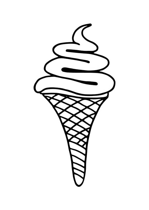 coloring pages of ice cream ice cream coloring page of food mitraland cream pages coloring ice of