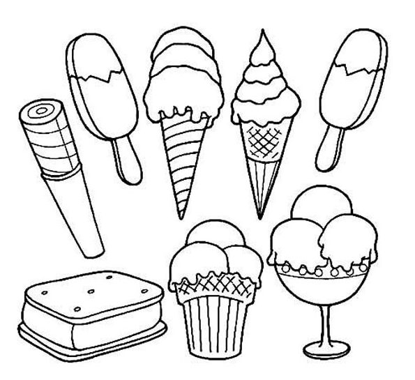 coloring pages of ice cream ice cream coloring pages coloring pages to download and cream pages ice of coloring