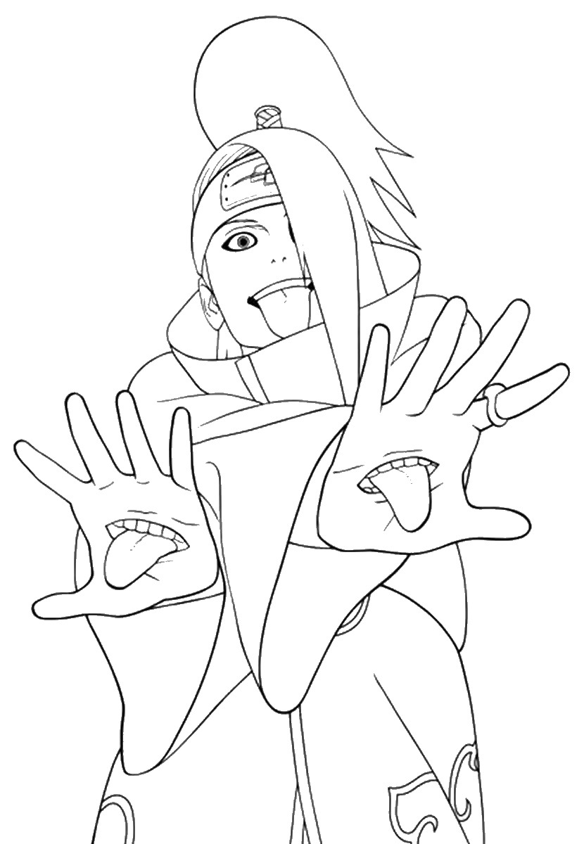 coloring pages of naruto naruto coloring pages pages naruto of coloring