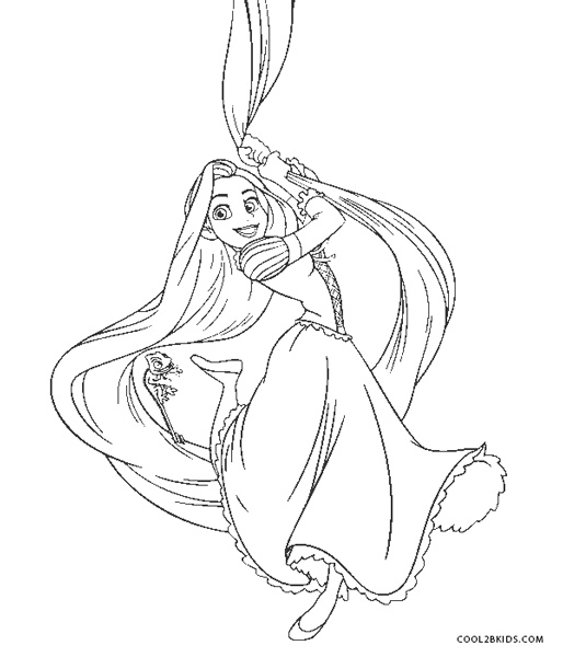coloring pages of rapunzel free printable rapunzel coloring pages for kids pages rapunzel coloring of