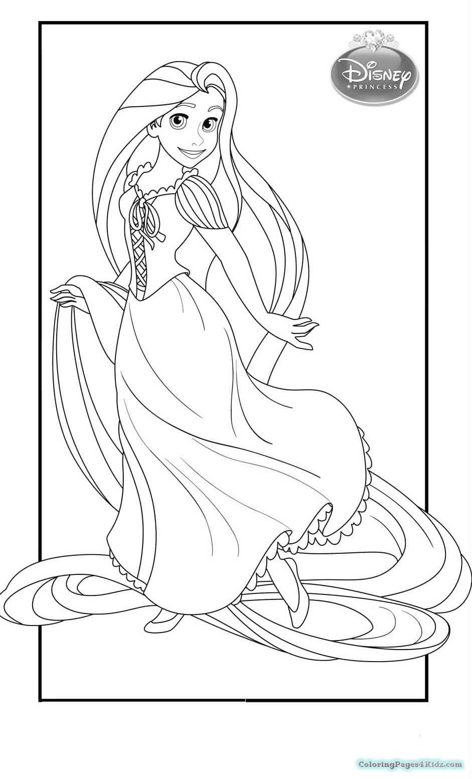 coloring pages of rapunzel printable coloring pages rapunzel princess coloring of rapunzel pages coloring