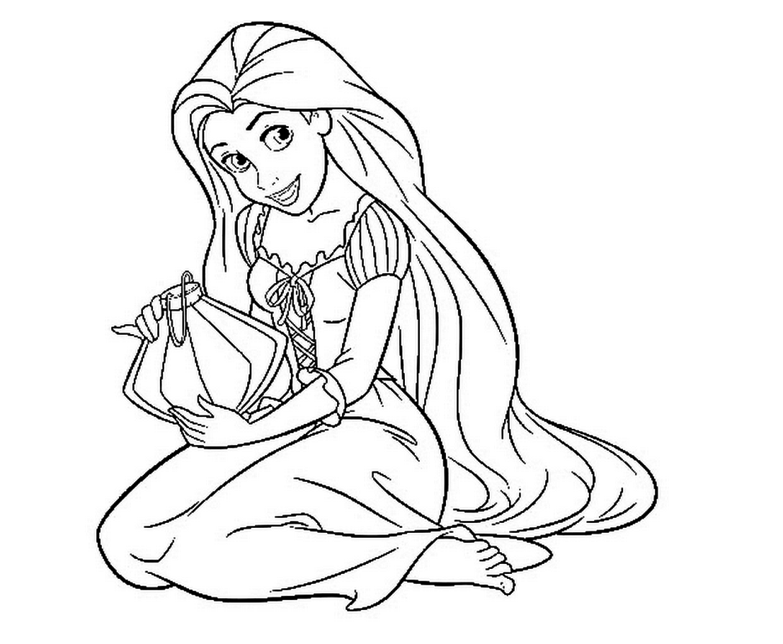 coloring pages of rapunzel rapunzel coloring pages at getdrawings free download of pages coloring rapunzel