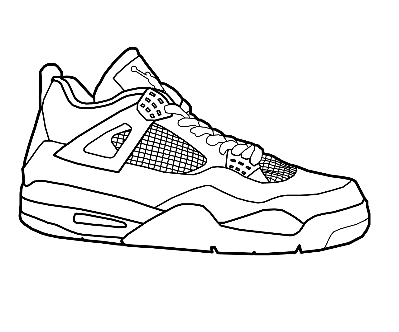 coloring pages of shoes basketball shoe coloring pages download and print for free pages coloring of shoes