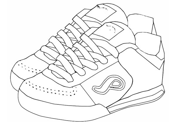 coloring pages of shoes basketball shoes coloring pages coloring pages to shoes of coloring pages