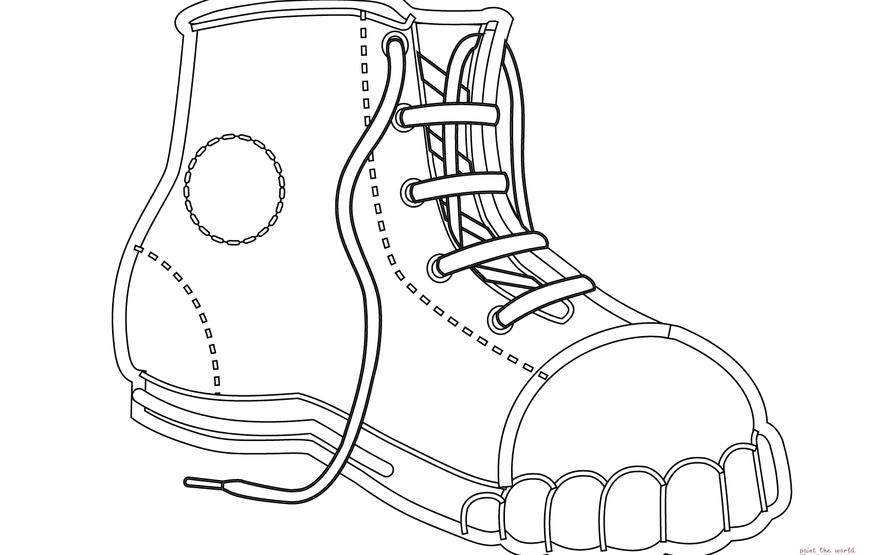 coloring pages of shoes coloring pages running shoes best of converse shoe pages coloring of shoes