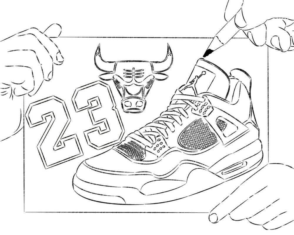 coloring pages of shoes free jordan coloring pages printable coloring junction of shoes pages coloring