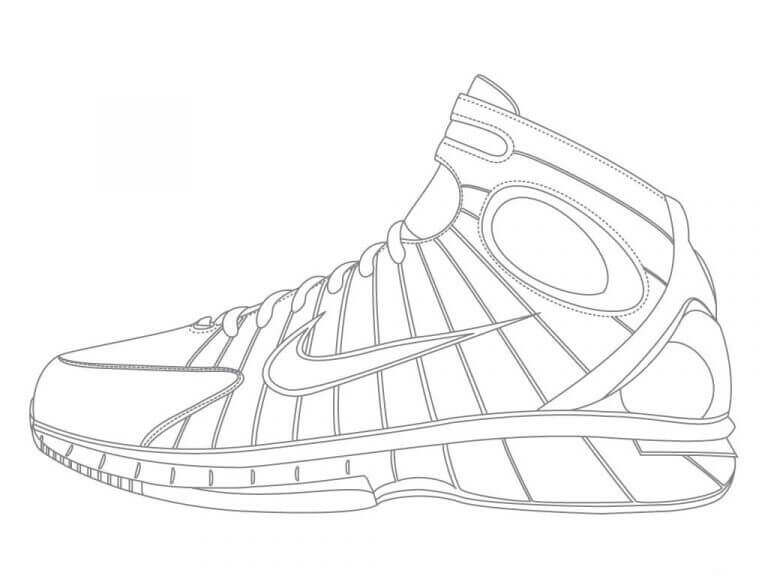 coloring pages of shoes free jordan coloring pages printable coloring junction pages of shoes coloring