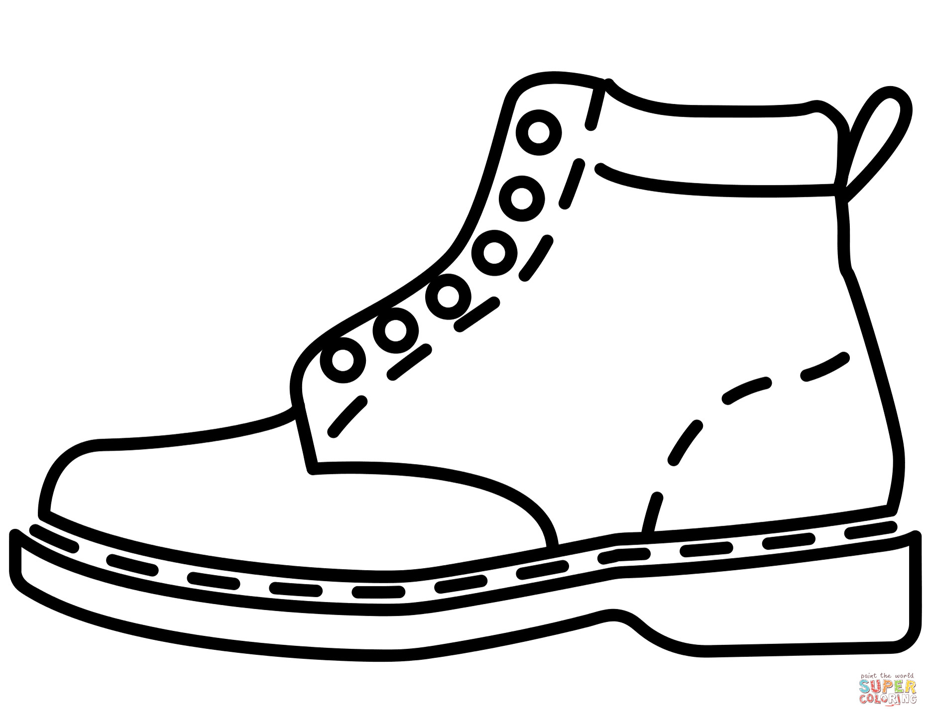 coloring pages of shoes jordan shoes coloring pages free download on clipartmag shoes of pages coloring