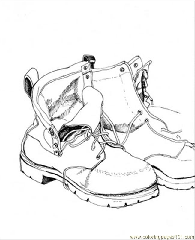 coloring pages of shoes vans shoes coloring pages at getcoloringscom free shoes coloring of pages