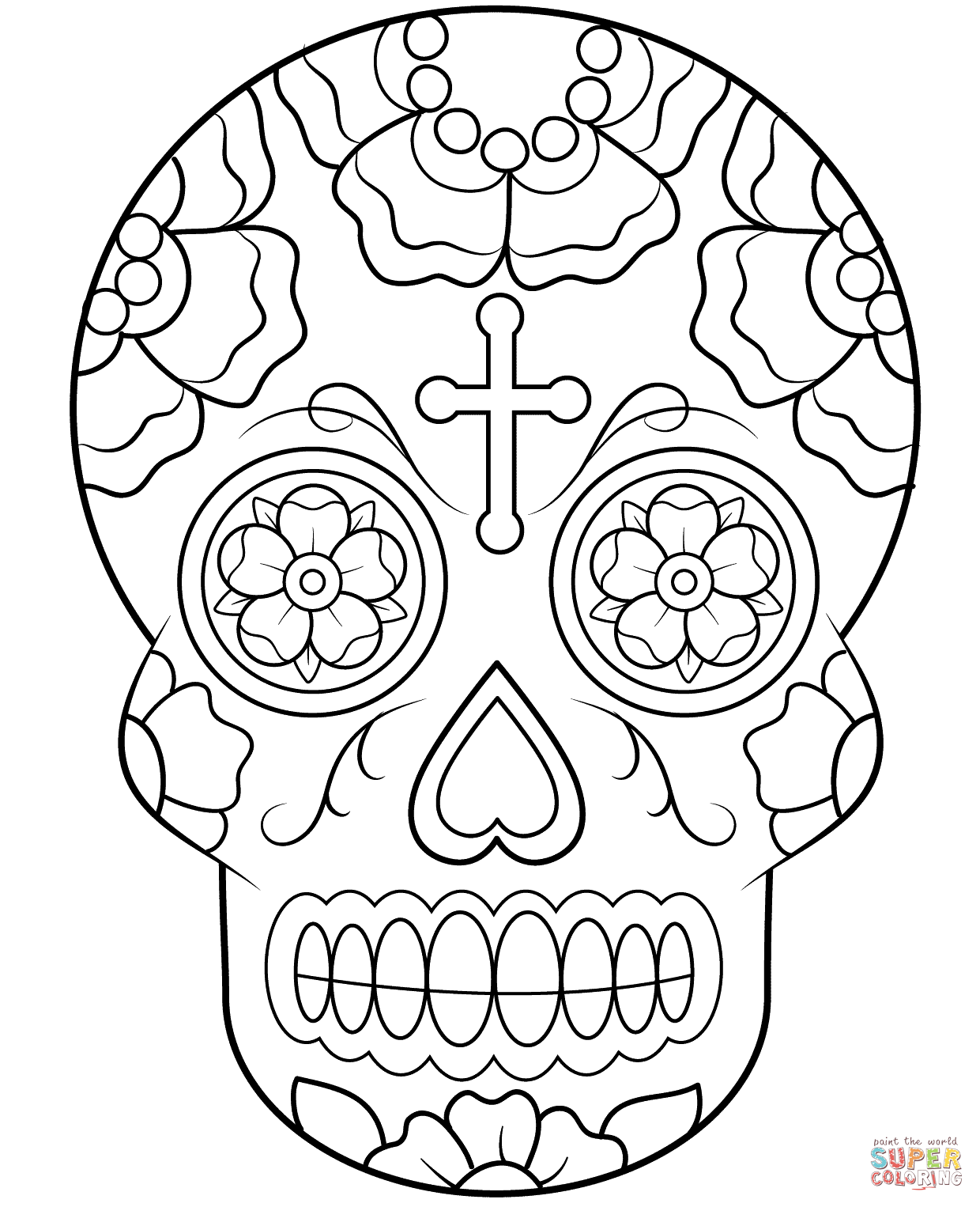 coloring pages of skulls with flames flaming skull coloring pages at getcoloringscom free with of coloring flames skulls pages