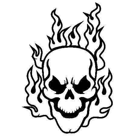 coloring pages of skulls with flames free pics of flaming skulls download free clip art free of skulls pages flames coloring with