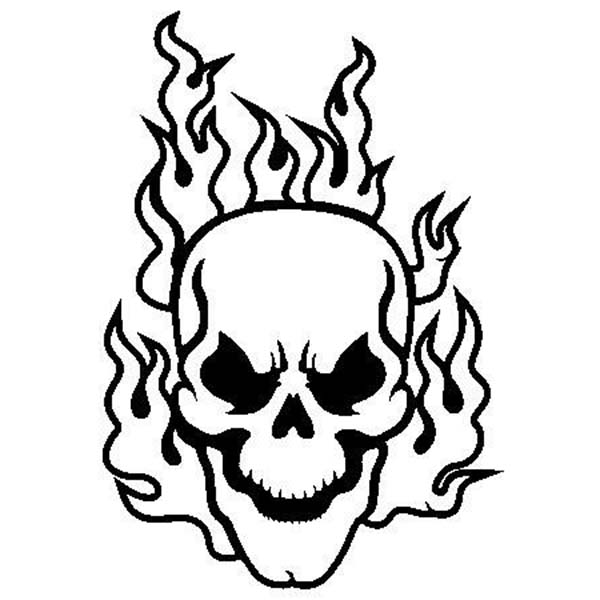 coloring pages of skulls with flames printable skulls coloring pages for kids coloring of with pages flames skulls