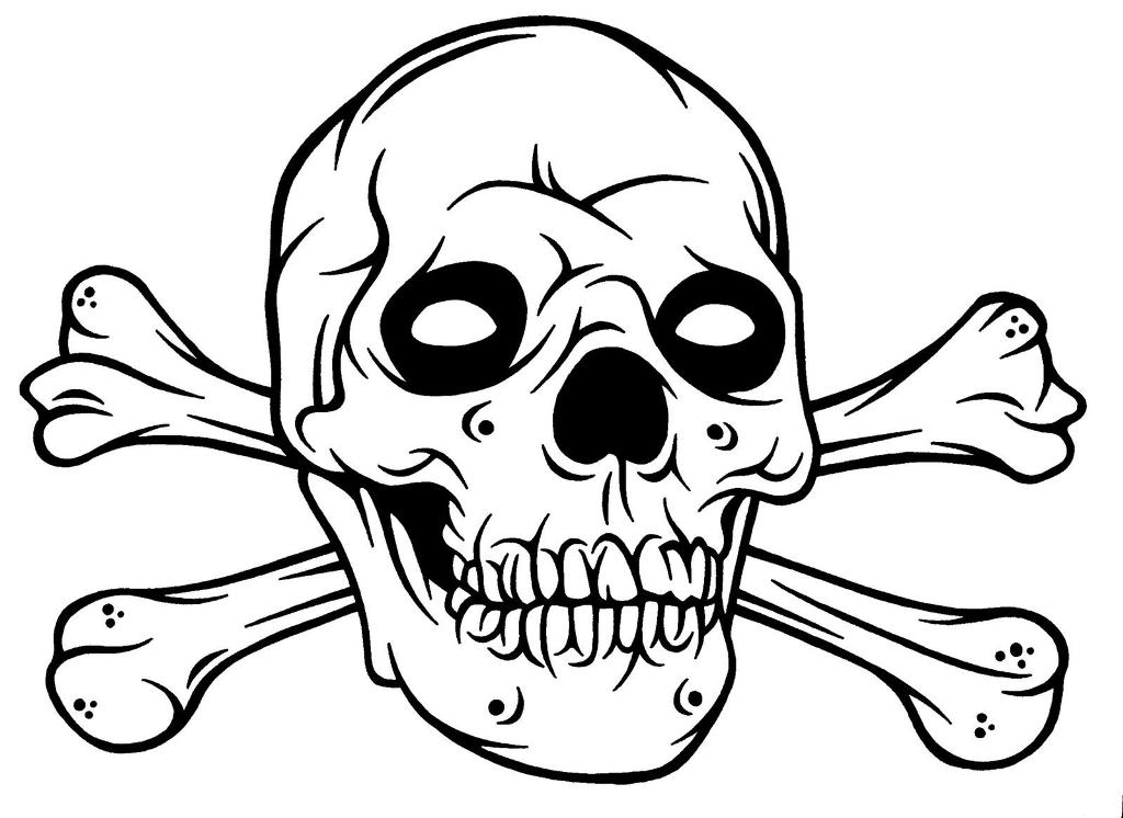 coloring pages of skulls with flames skull on fire drawing at getdrawings free download pages coloring with of flames skulls