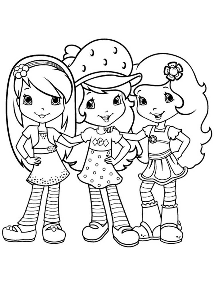 coloring pages of strawberry shortcake free printable strawberry shortcake coloring page 03 strawberry shortcake coloring of pages