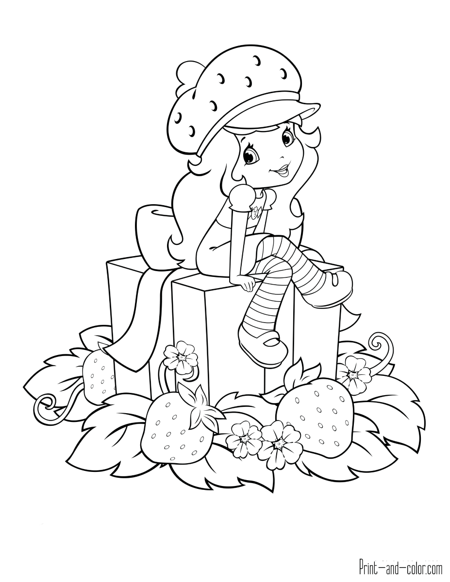 coloring pages of strawberry shortcake kids n funcom 22 coloring pages of strawberry shortcake of pages shortcake coloring strawberry