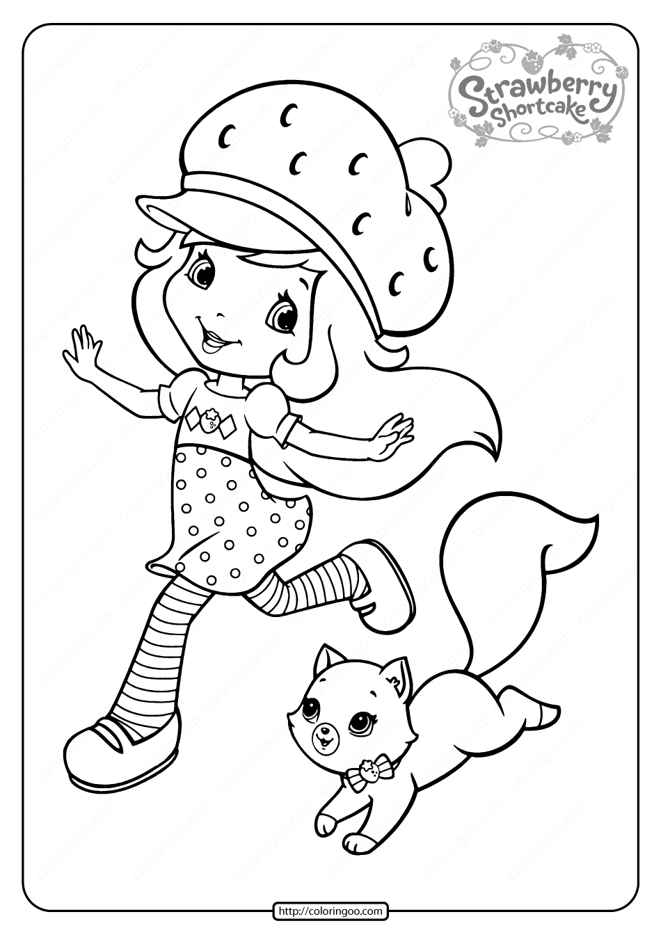 coloring pages of strawberry shortcake printable strawberry shortcake coloring pages 12 pages strawberry coloring of shortcake