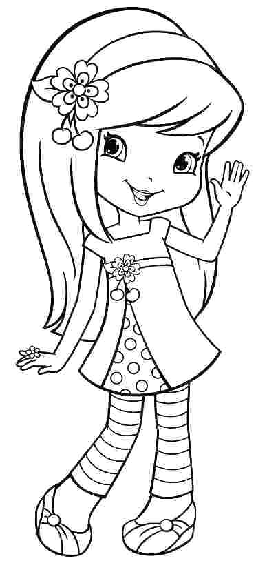 coloring pages of strawberry shortcake strawberry shortcake berrykins coloring pages free shortcake pages strawberry of coloring