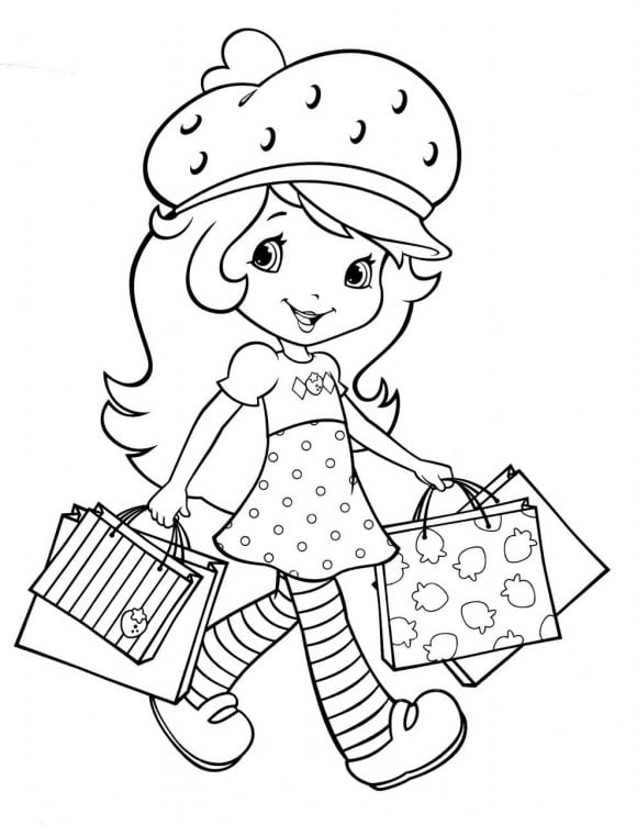 coloring pages of strawberry shortcake strawberry shortcake coloring pages coloring page base pages shortcake strawberry of coloring