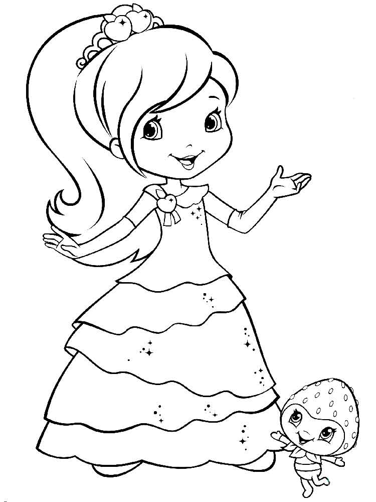 coloring pages of strawberry shortcake strawberry shortcake coloring pages free printable coloring strawberry pages shortcake of