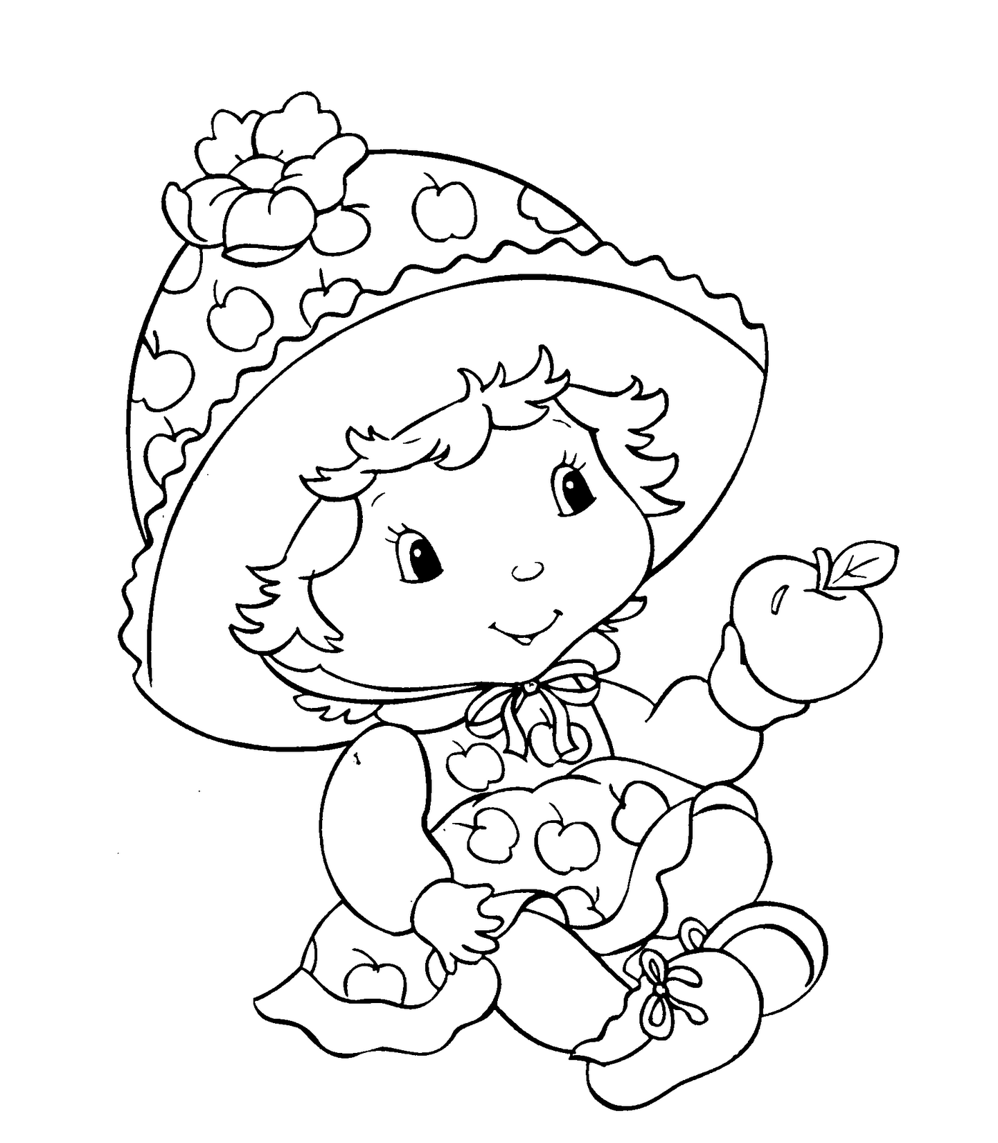 coloring pages of strawberry shortcake strawberry shortcake coloring pages free printable shortcake strawberry of coloring pages