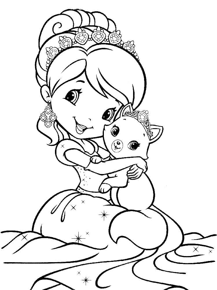 coloring pages of strawberry shortcake strawberry shortcake coloring pages print and colorcom pages coloring of strawberry shortcake