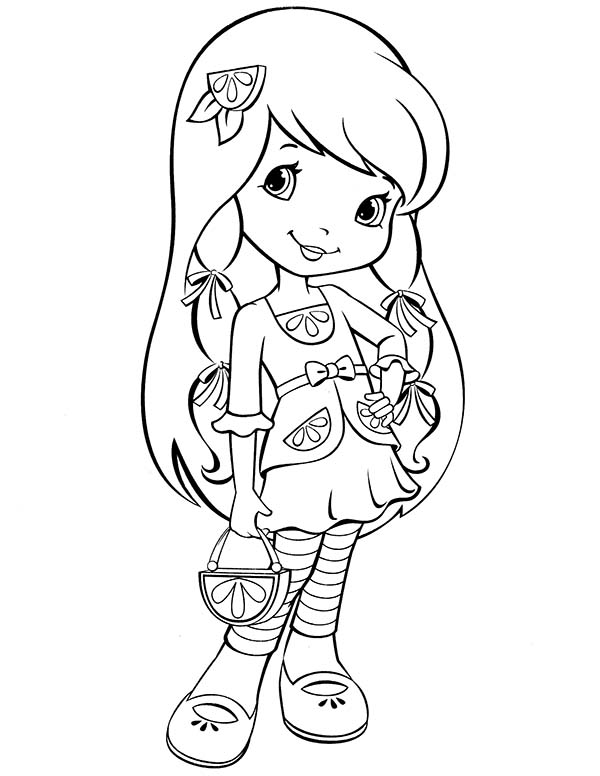 coloring pages of strawberry shortcake strawberry shortcake new friends from big apple city coloring strawberry of pages shortcake