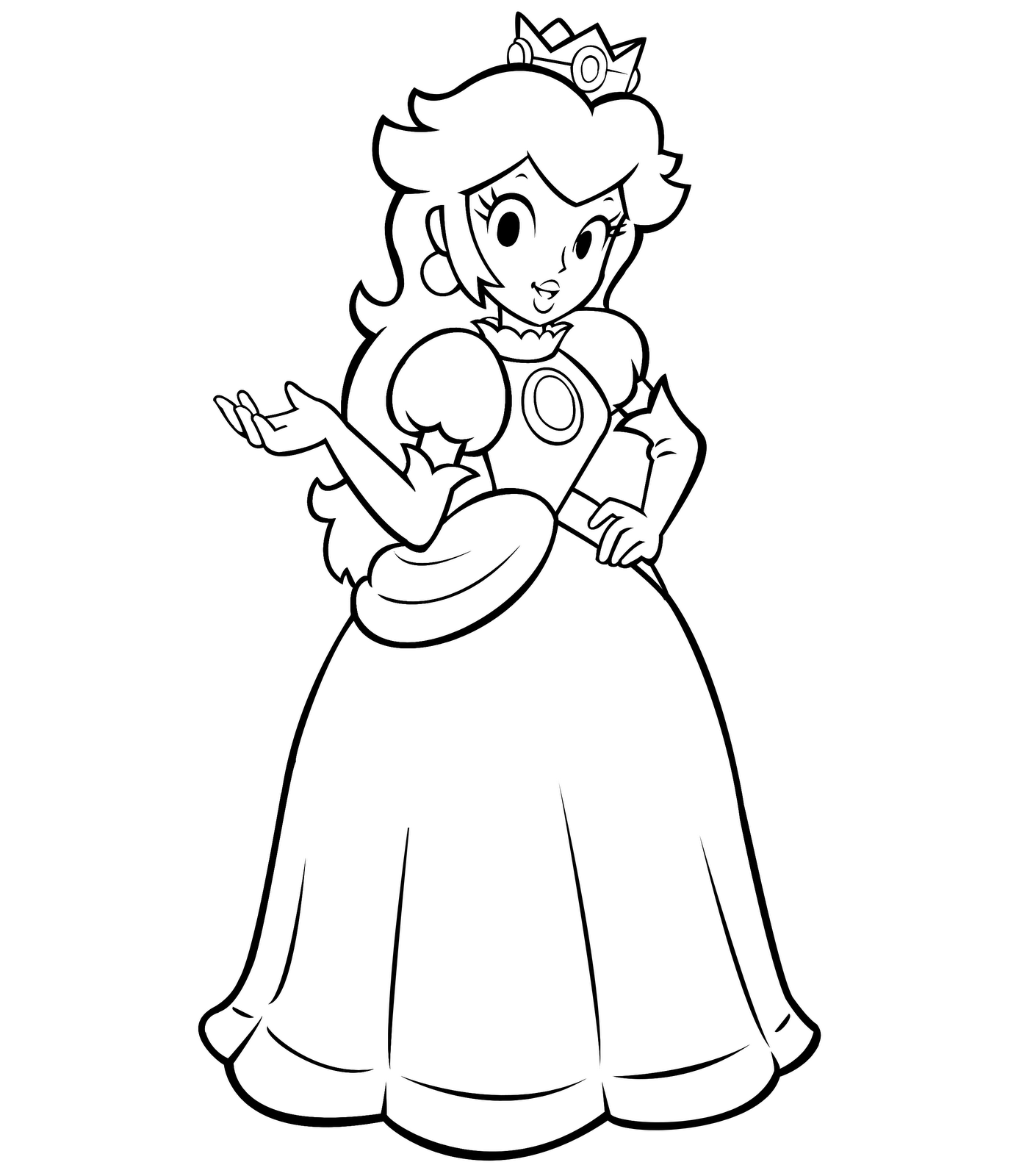 coloring pages princess peach baby princess peach coloring play free coloring game online princess coloring pages peach