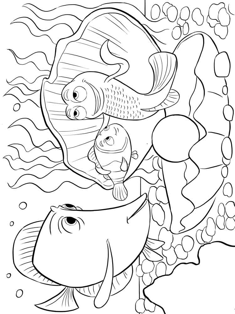 coloring pages printable free finding nemo coloring pages for kids free printable free pages coloring printable
