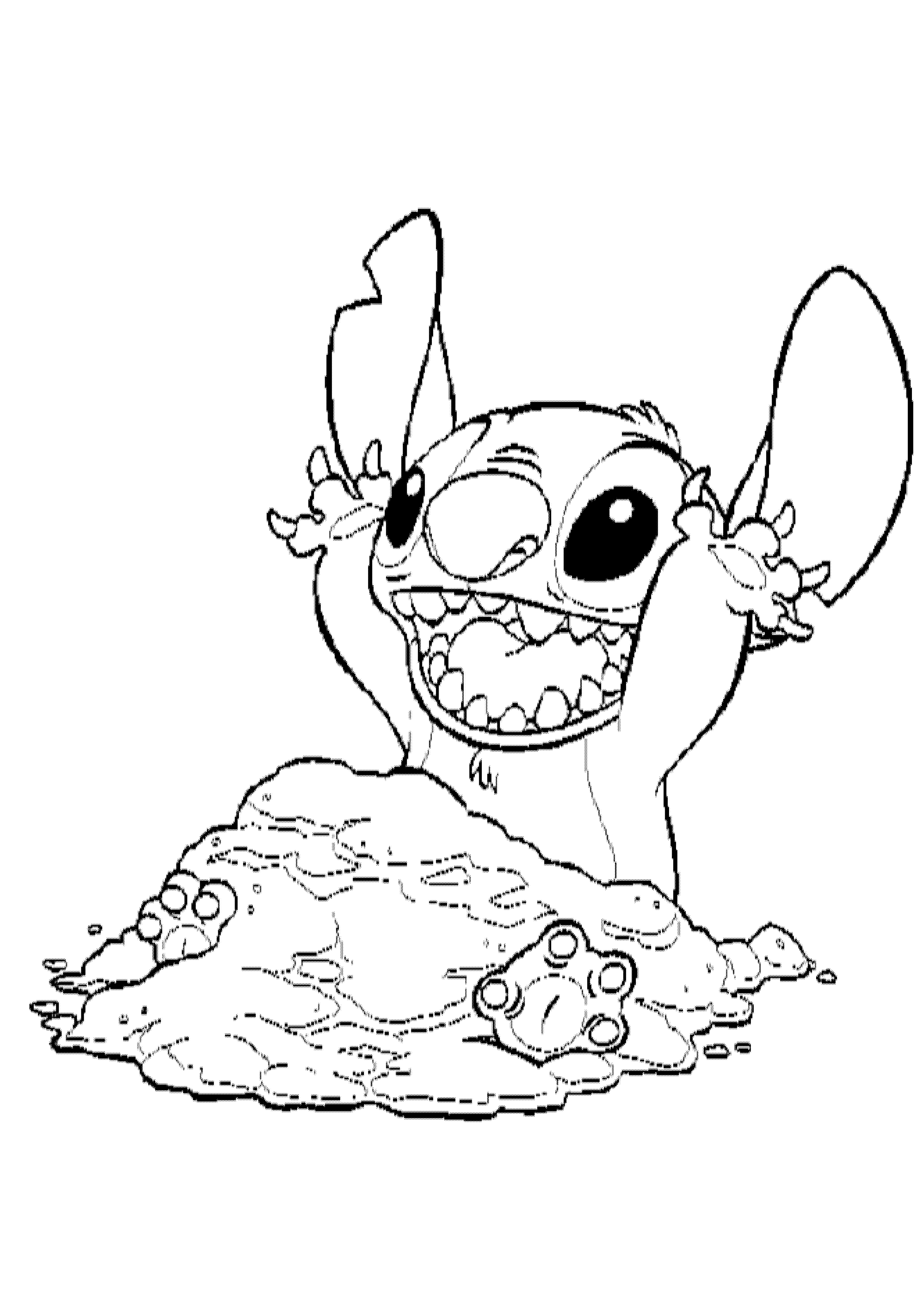 coloring pages stitch lilo stitch coloring page 06 coloring page free lilo stitch coloring pages