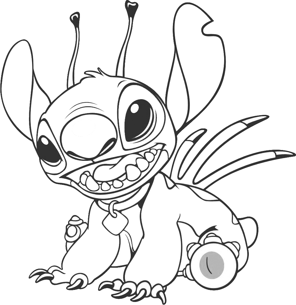 coloring pages stitch stitch coloring pages to download and print for free stitch pages coloring