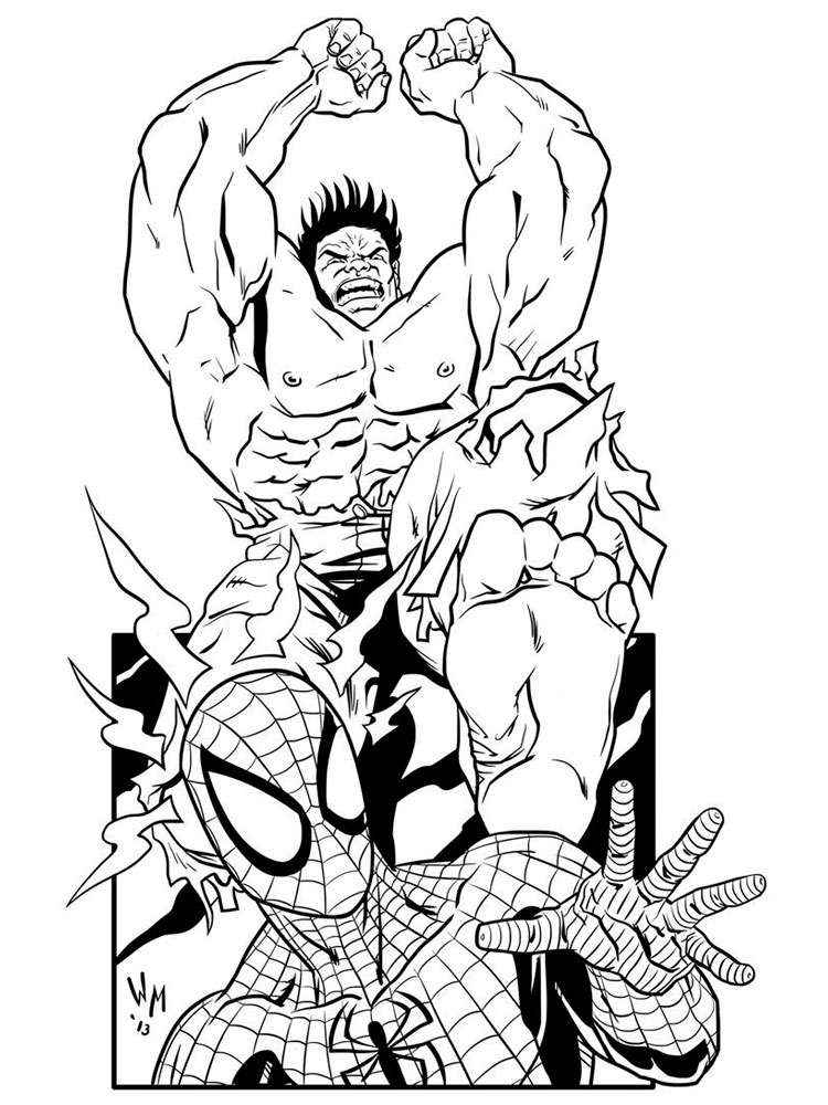 coloring pages superheroes marvel heroes coloring pages at getdrawings free download coloring superheroes pages